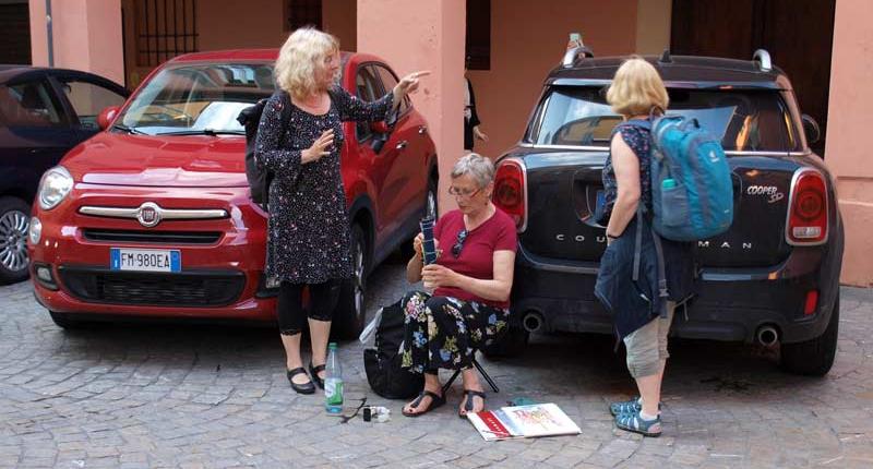 Malen in der Altstadt